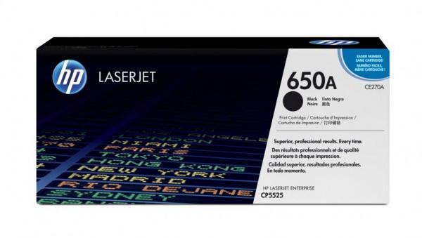 HP Toner schwarz f. CLJ CP5525/M750