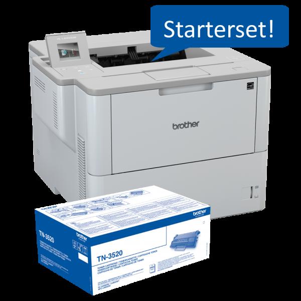 Starterset Drucker + Reservetoner