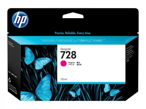 HP Vivera Tinte Nr. 728 magenta, 130ml