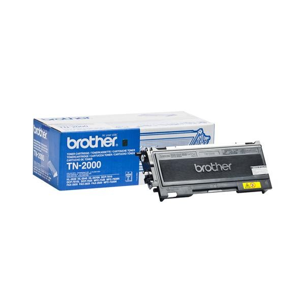 Brother Toner schwarz TN-2000 PROMO