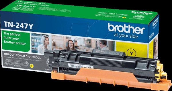 Brother TN-247Y Tonerkartusche – Yellow